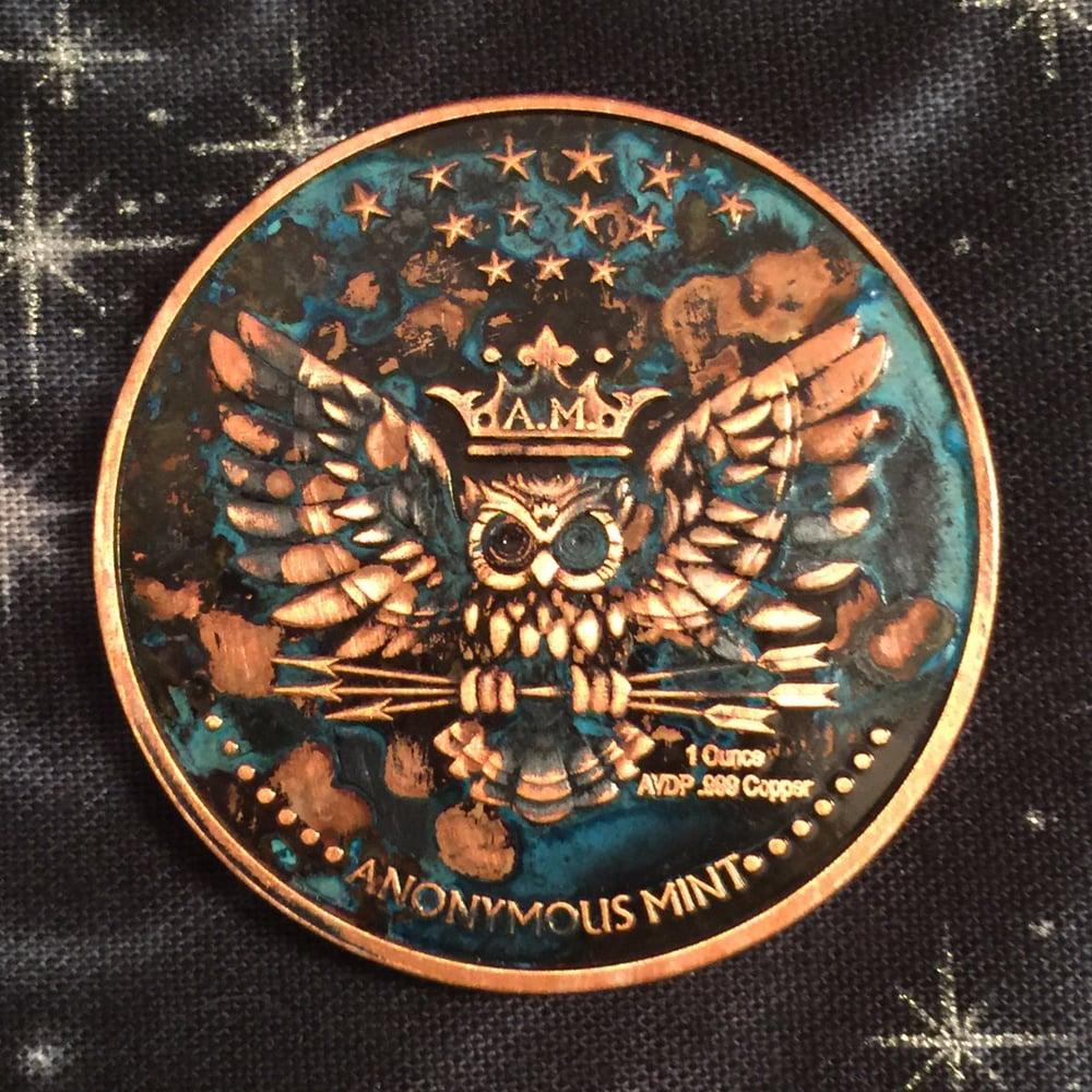 Image of The Kraken 1oz Copper Challenge Coin