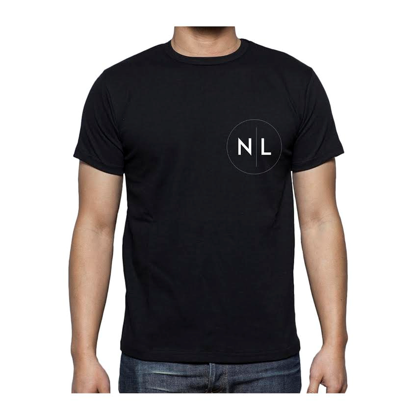 Image of November Lights Black Tee