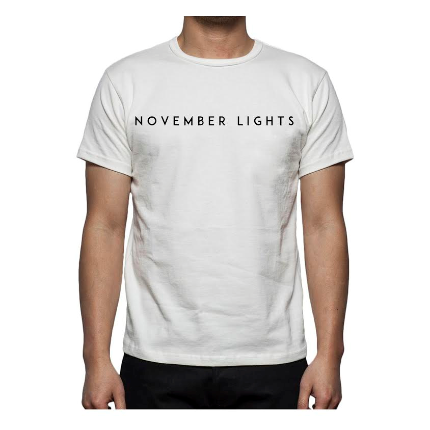 Image of November Lights White Tee