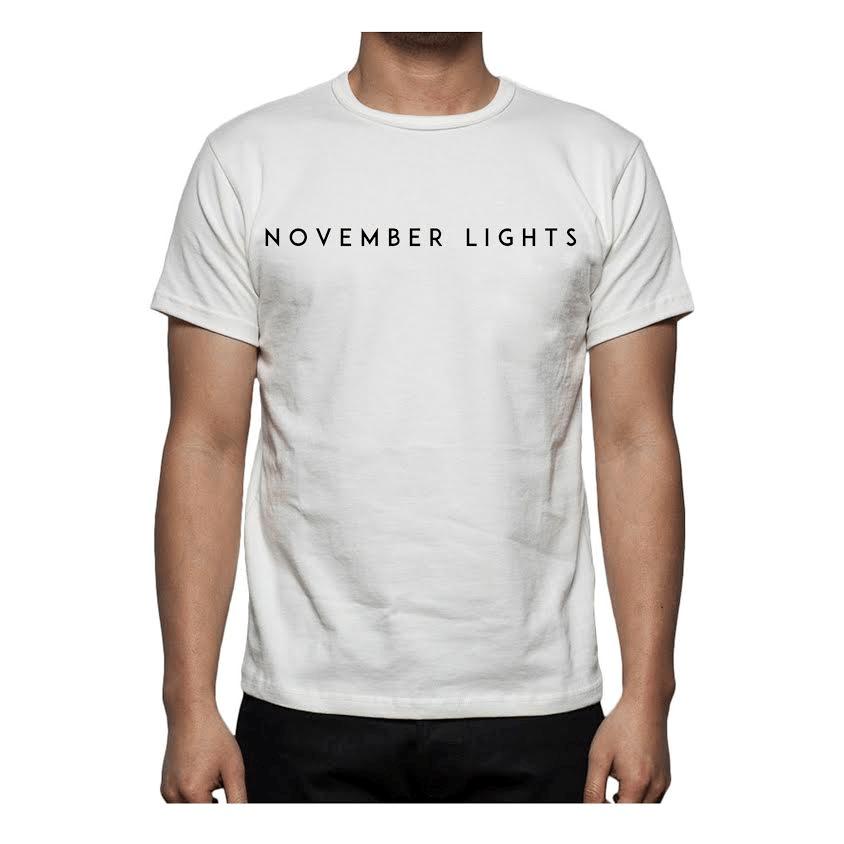 Image of November Lights White Tee