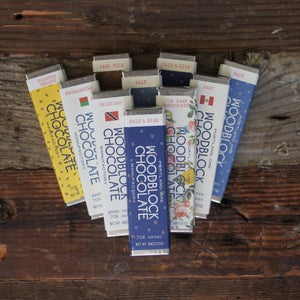 Image of Woodblock Chocolate - assorted flavors