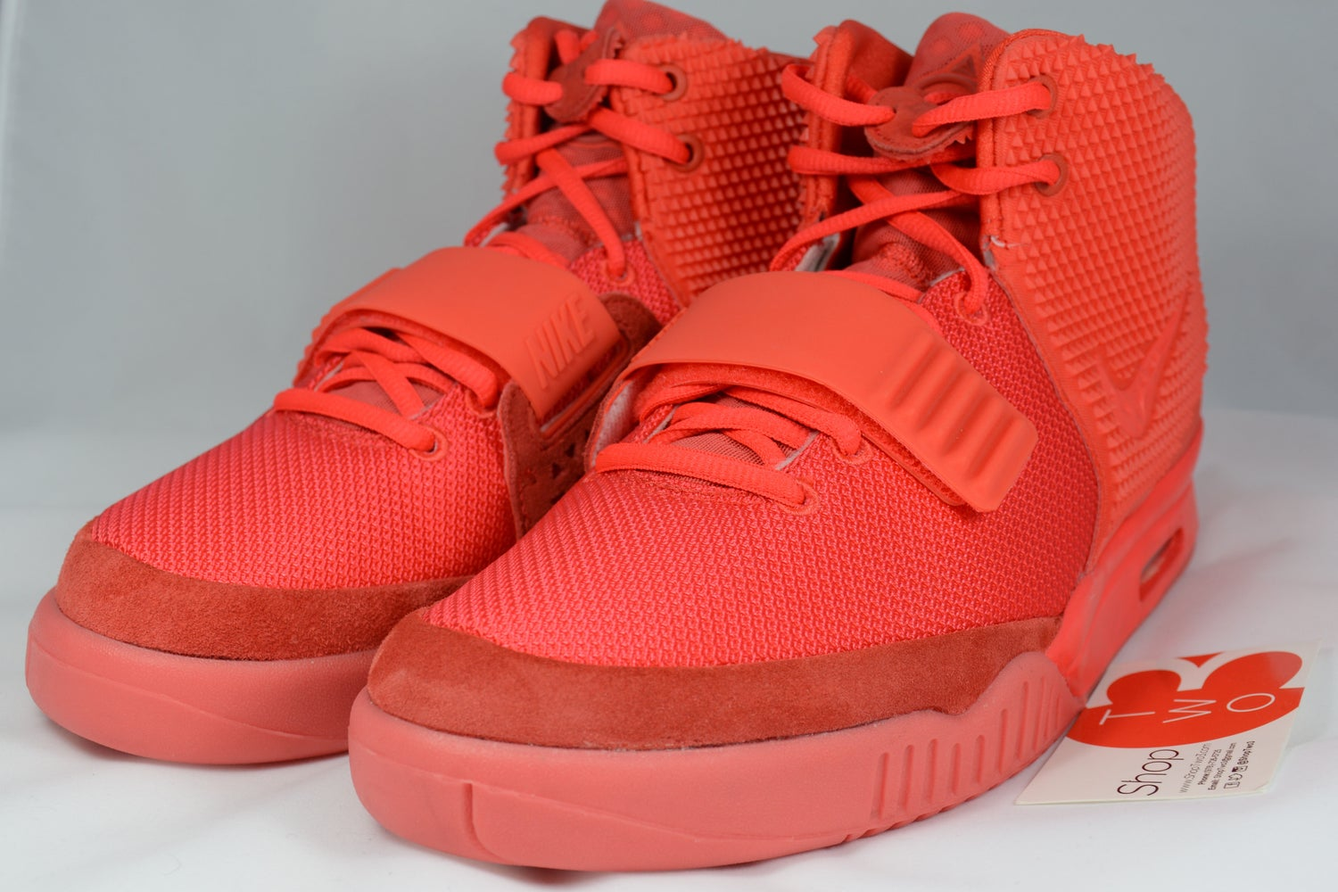 Image of Air Yeezy 2 Red October