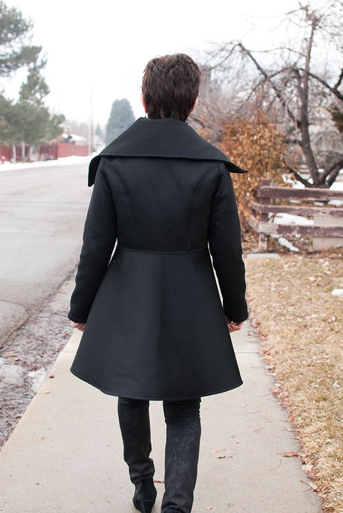 Image of Women's Nina Coat Pattern