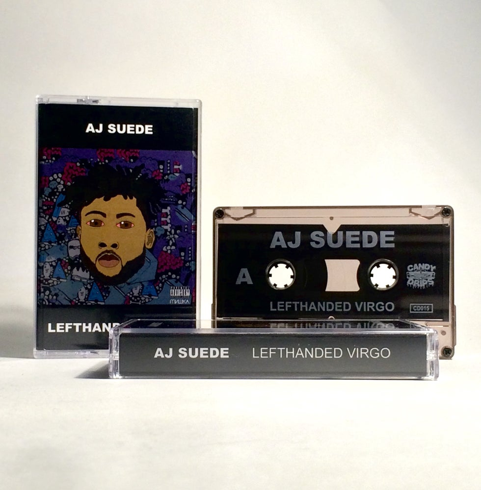 Image of AJ SUEDE: LEFTHANDED VIRGO - CASSETTE TAPE