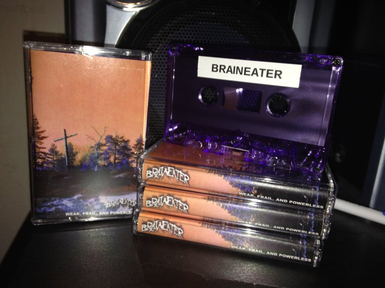 Image of Weak, Frail, and Powerless Purple Shell Cassette (Limited to 25 Copies)
