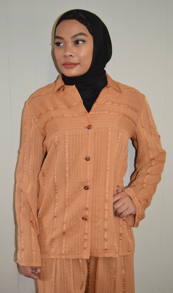 Image of Voyage Top (Earth Orange).