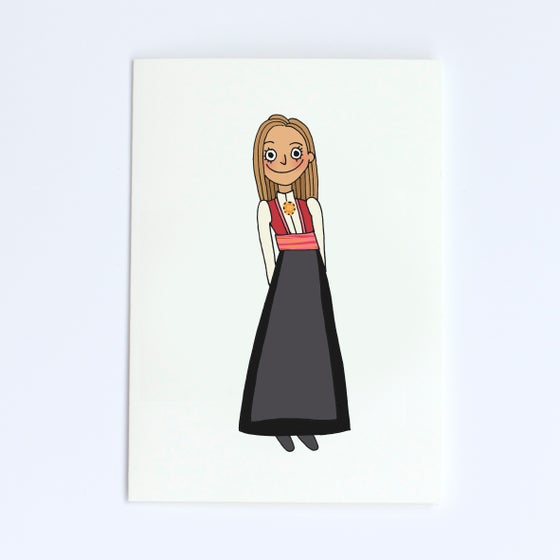 Image of Girl card 2