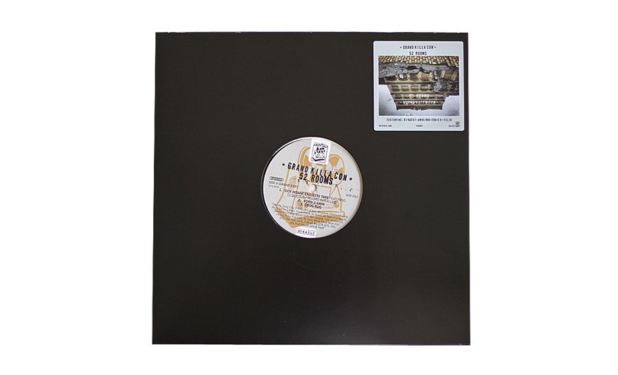 Image of Grand Killa Con - 52 Rooms EP Black Vinyl
