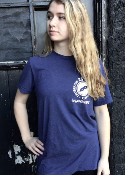 Image of Blue Tri-blend Masquerade T-Shirt