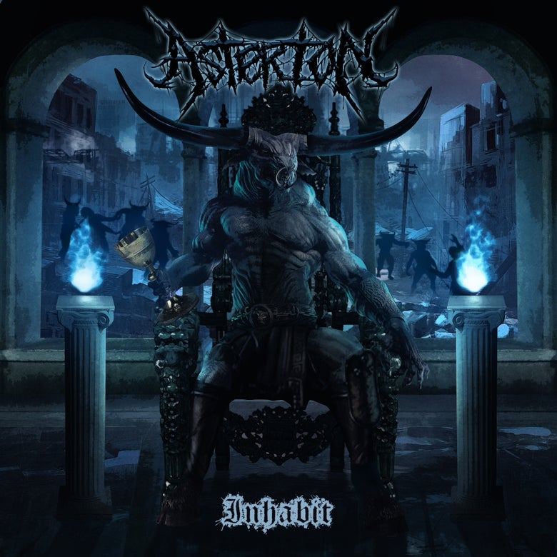 "Image of Asterion ""Inhabit"" CD"