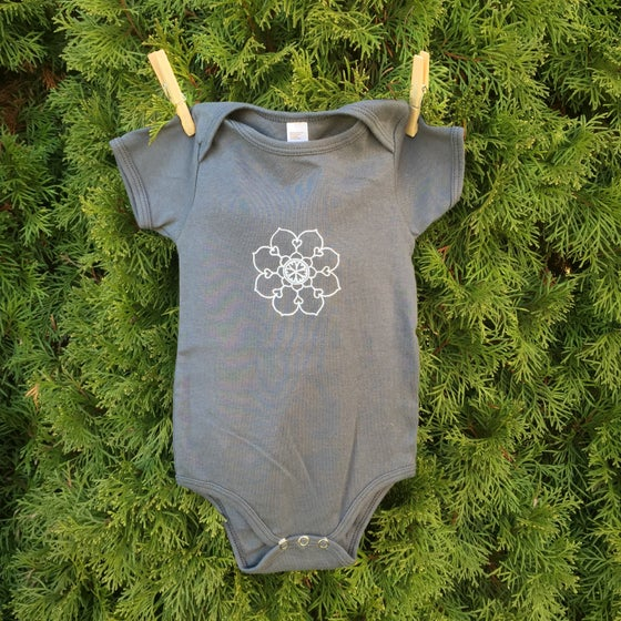 Image of Mandala Onesie Love