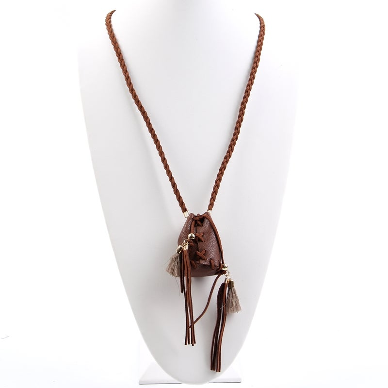 Image of Medicine bag necklace