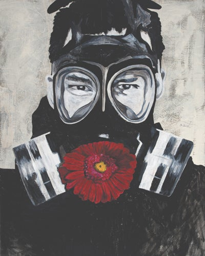 "Image of Limited Edition ""Gasmask"" Print"