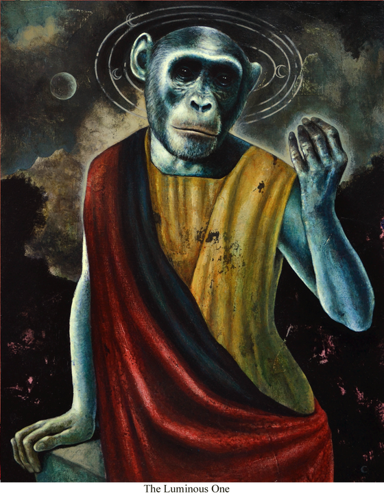Image of Canvas Giclee- The Luminous One