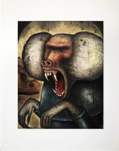 Image of Matted Print - Wrath