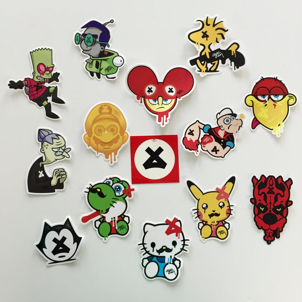 Image of MEGA Sticker Pack + 1 FREE