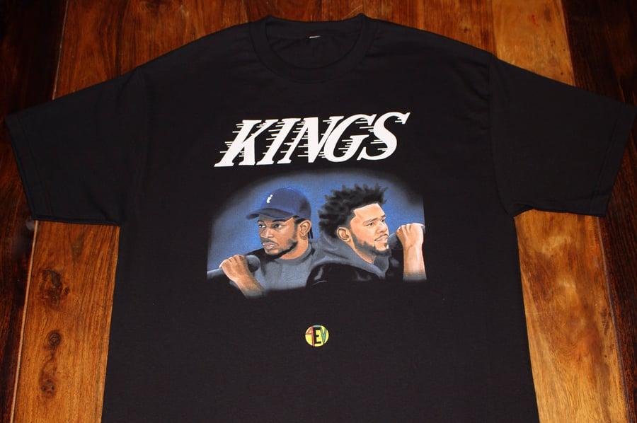 "Image of Kendrick/Cole ""KINGS"" [4EV TEE]"