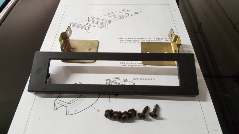Image of USED Honda Accessory Equalizer Attachment Kit *RARE*