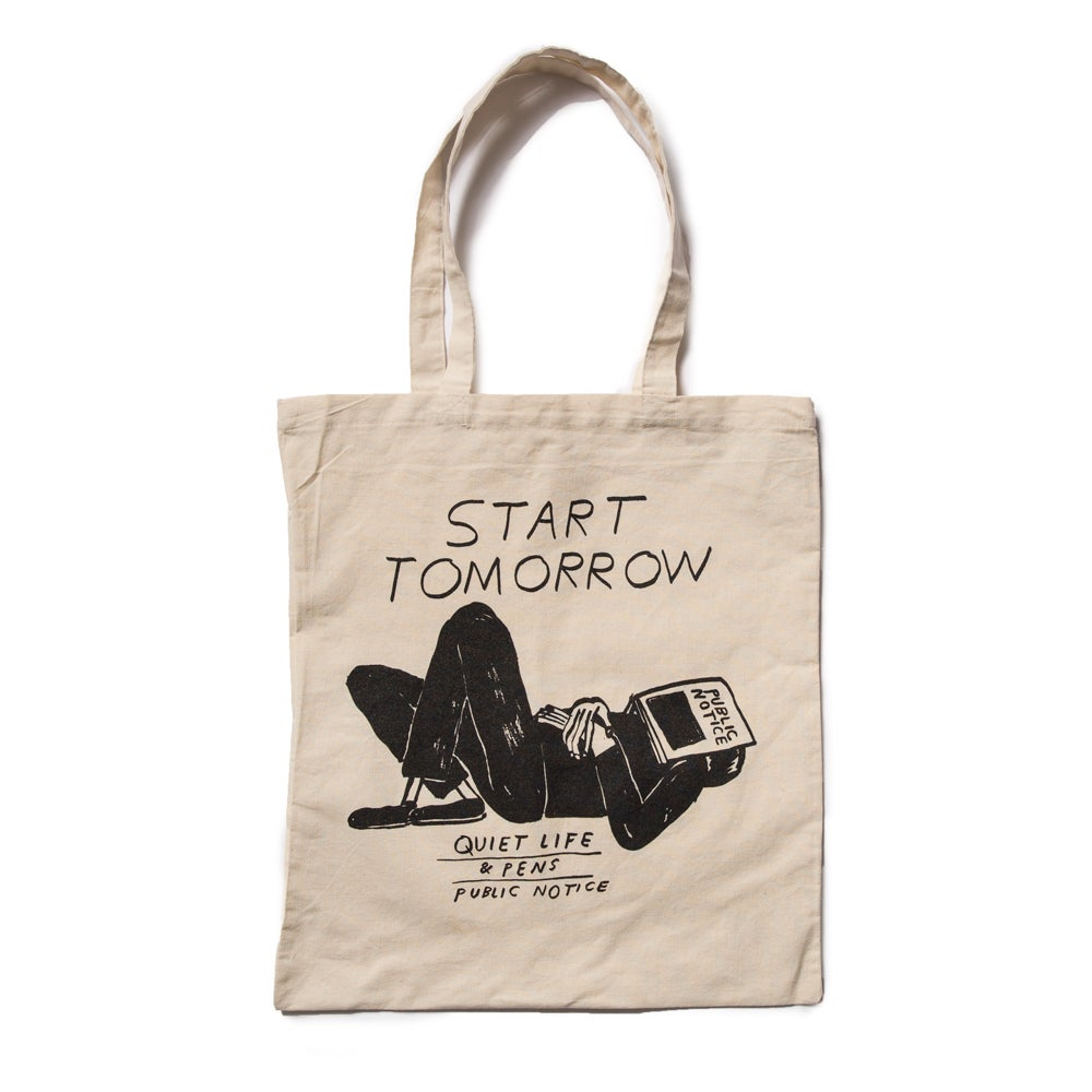 Image of Public Notice Tote Bag, Nathaniel Russell