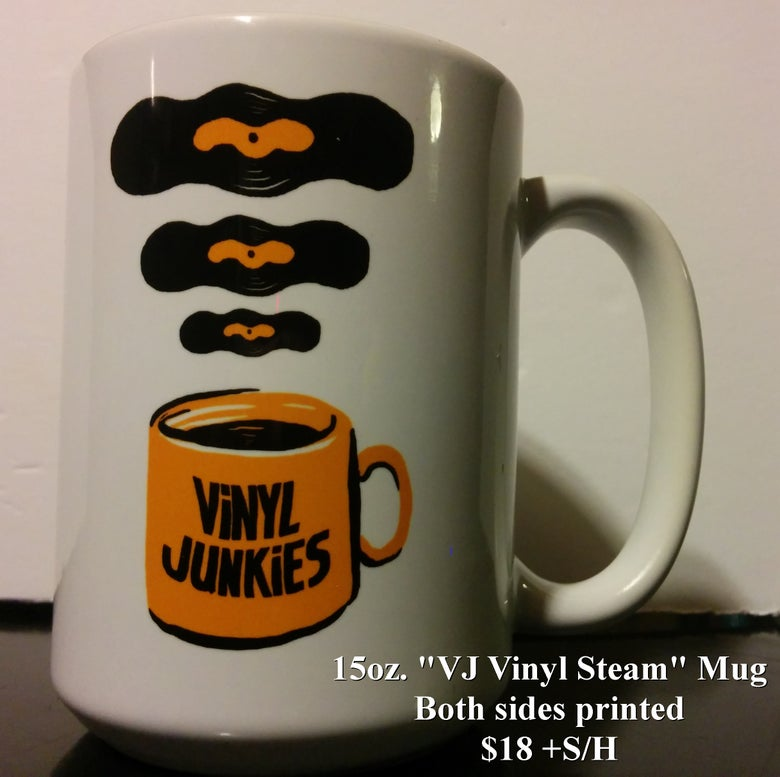 "Image of VJ ""Vinyl Steam"" Coffee Mug"
