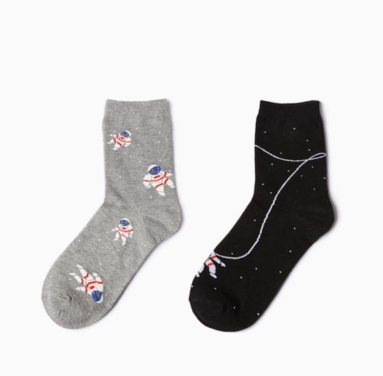 "Image of X-Society Socks ""Spaceman"""