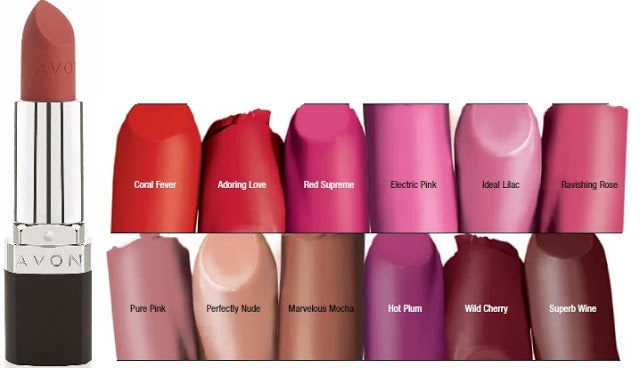 Image result for avon perfectly matte lipstick