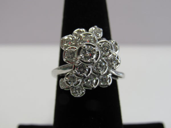 Image of Diamond cocktail Ring