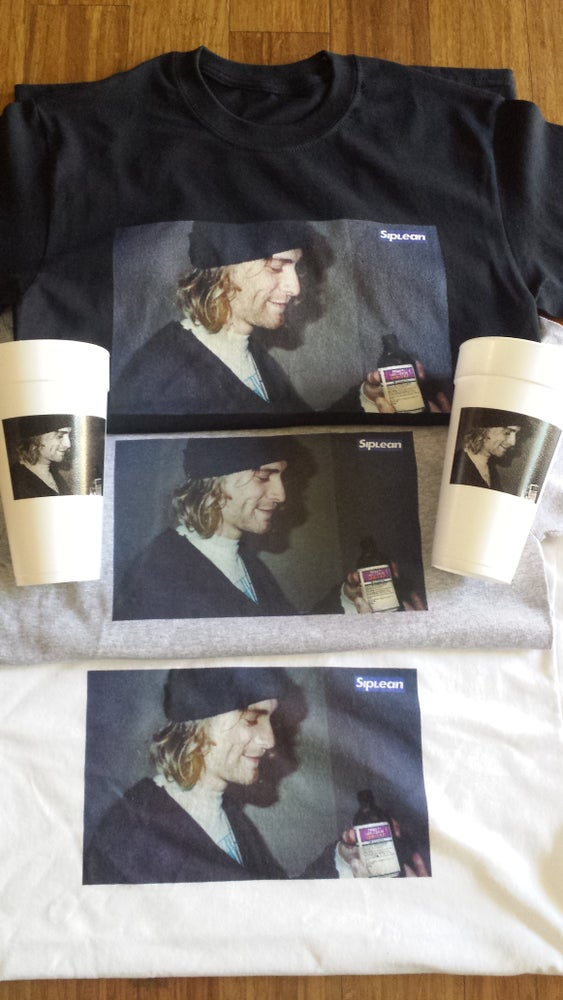 Image of Siplean Kurt Codeine Tee