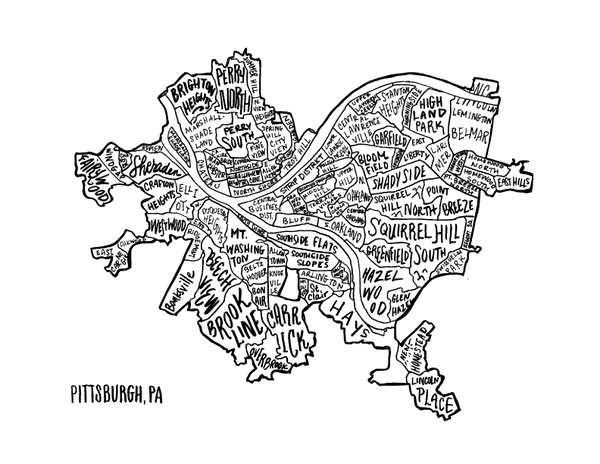 Pittsburgh Neighborhoods - HOUSE15143