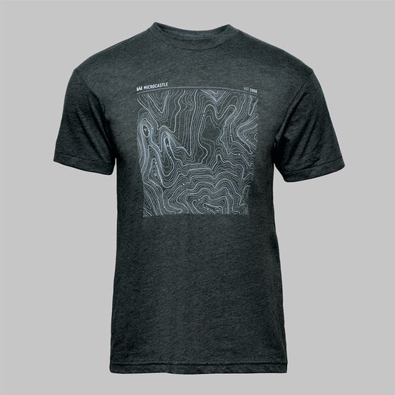 Image of microCastle EST 2008 T-Shirt Heather Black