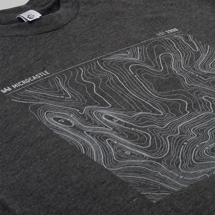 Image of microCastle EST 2008 T-Shirt Heather Black