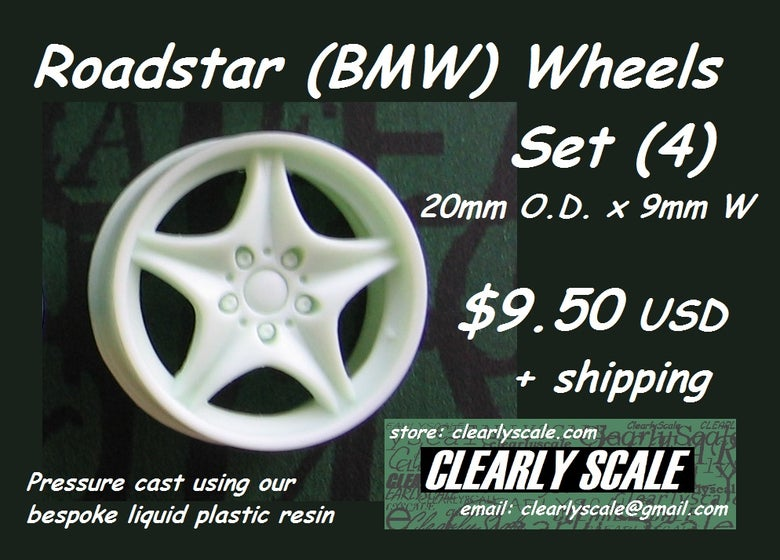 Image of Roadstar (BMW) Wheels (4) Set