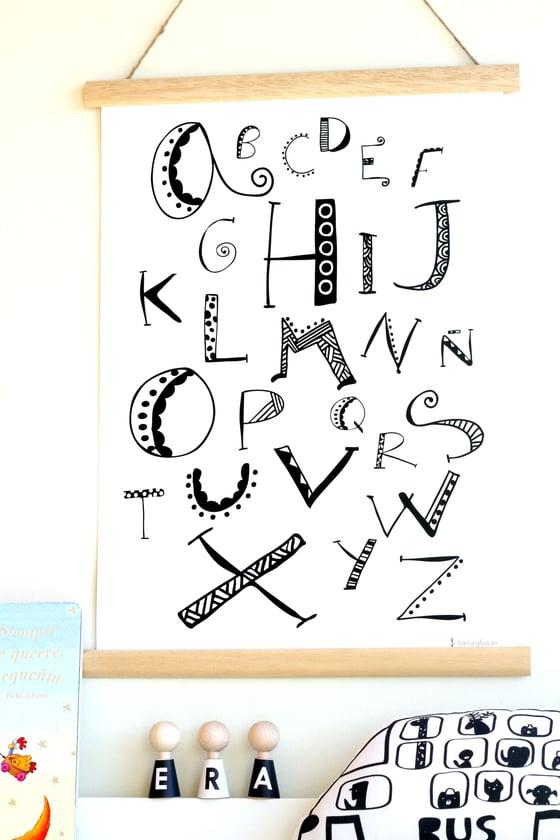 Image of Lámina abecedario