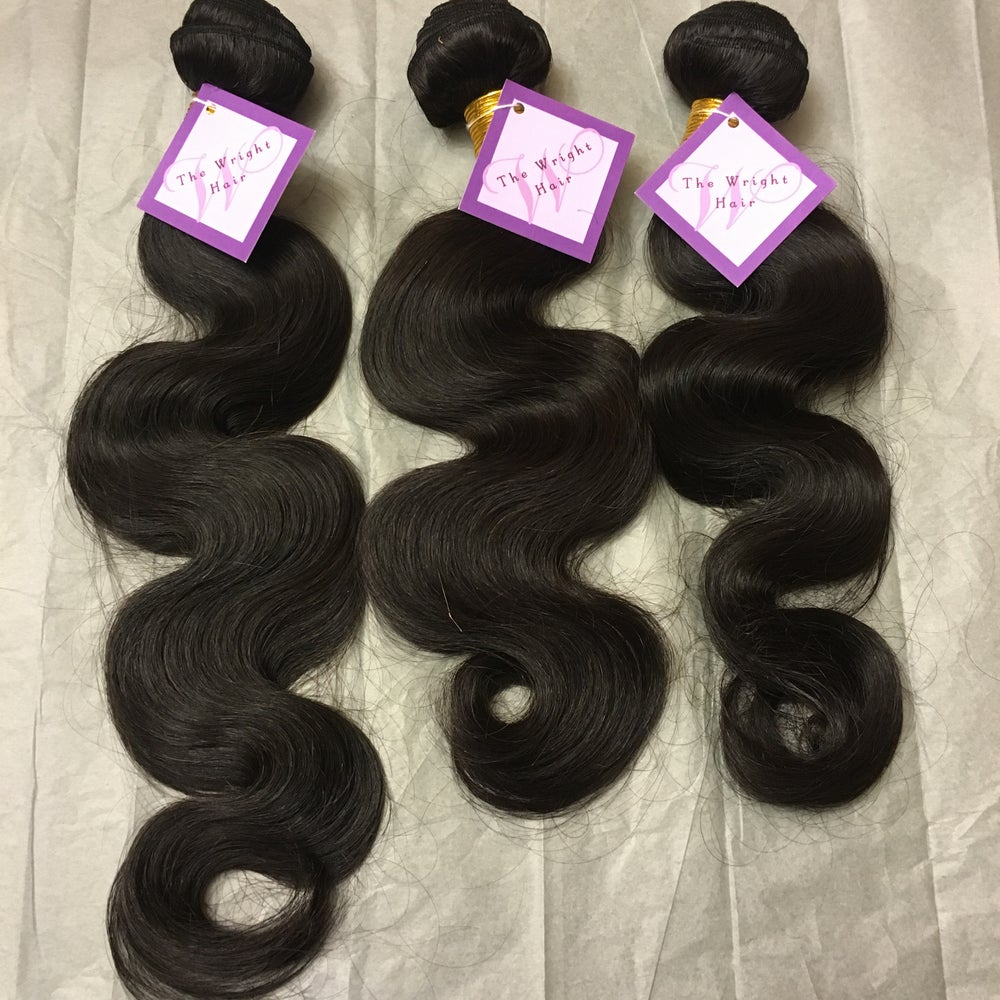 Image of 100% Virgin Human Hair -Body Wave