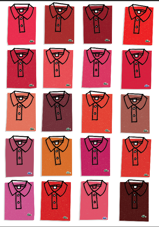 Image of Lacoste red