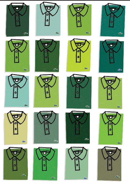 Image of Lacoste green