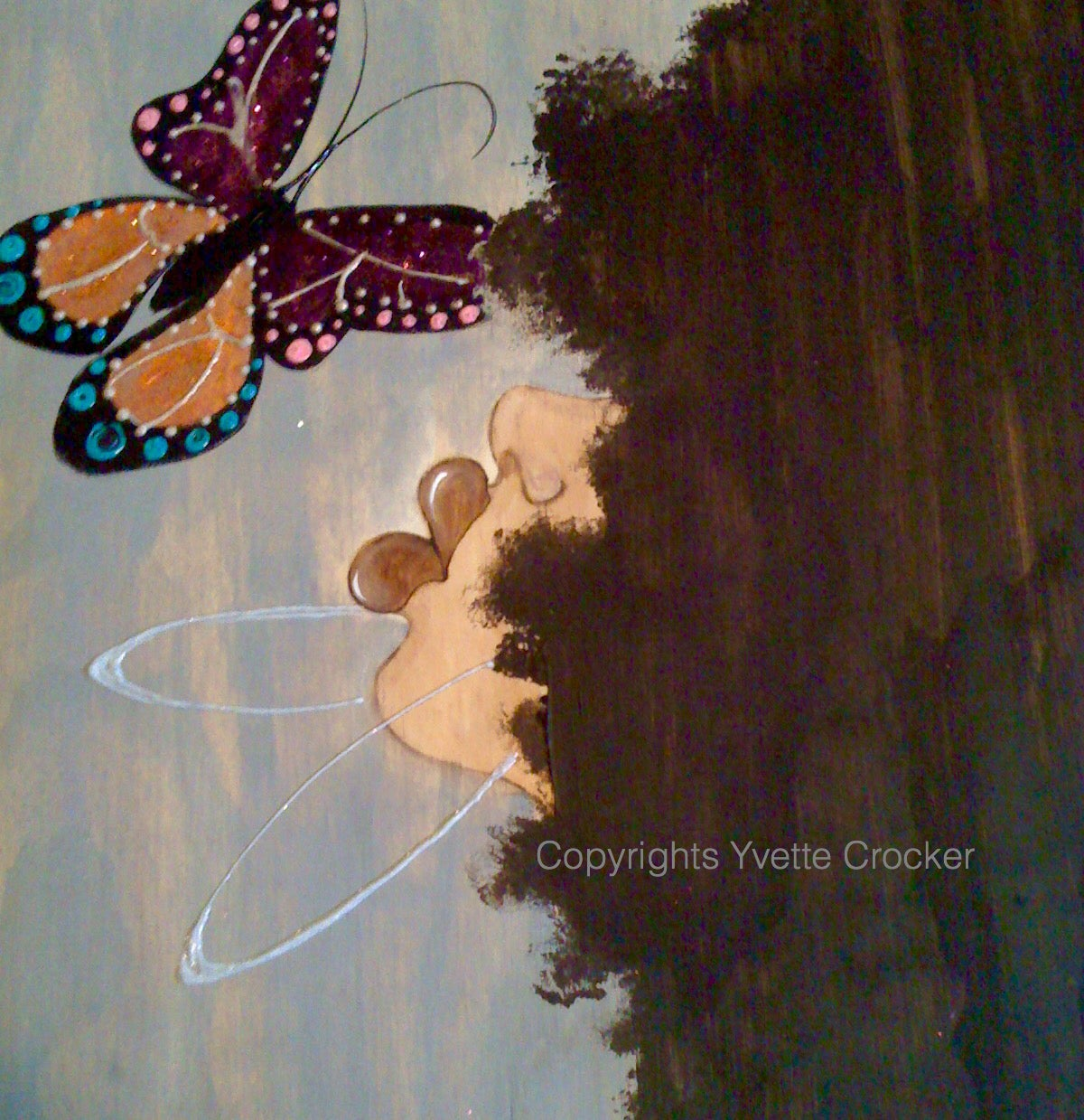 Image of FLutterbye Series Grey Skies