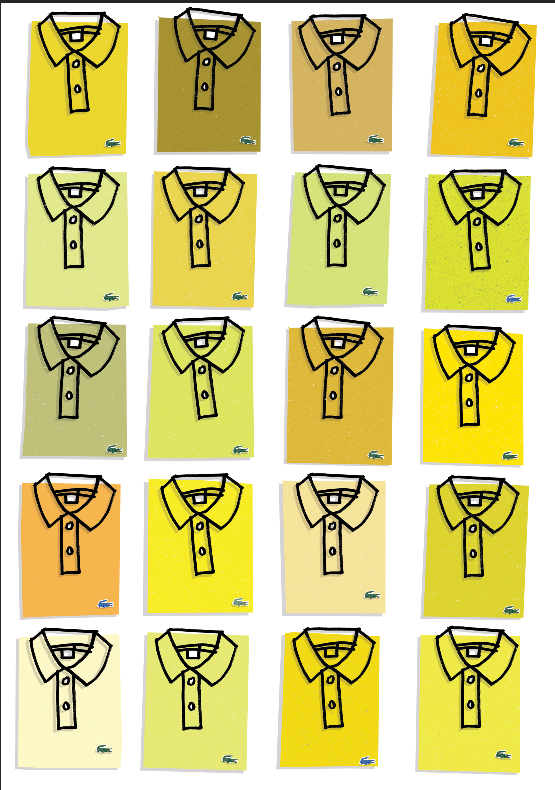 Image of Lacoste yellow