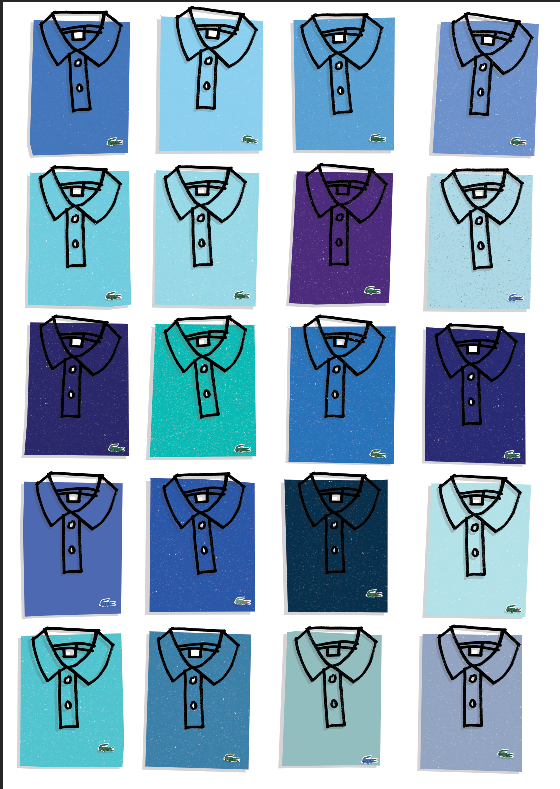 Image of lacoste blue
