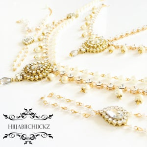 Image of | S A J N I | Bridal Set