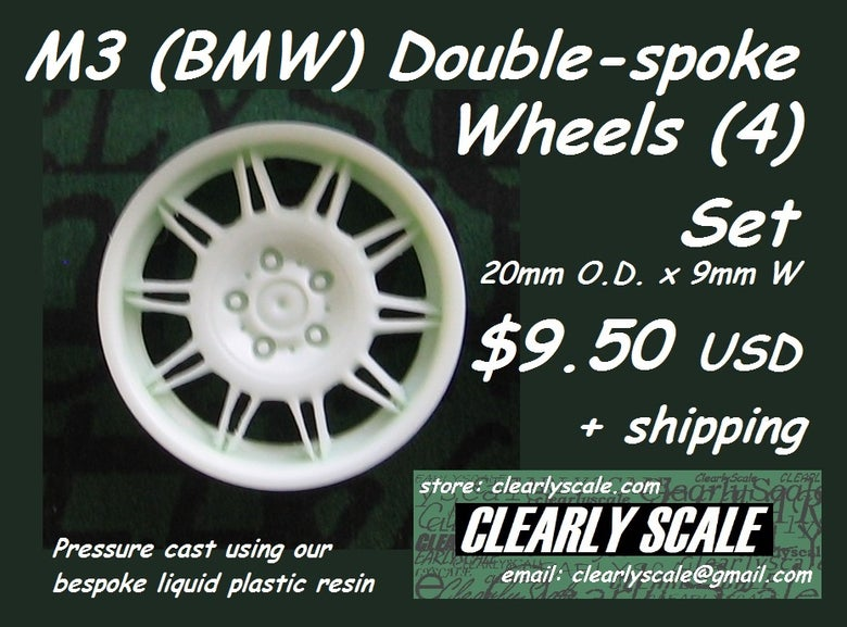 Image of M3 (BMW) Double-spoke Wheels (4) Set