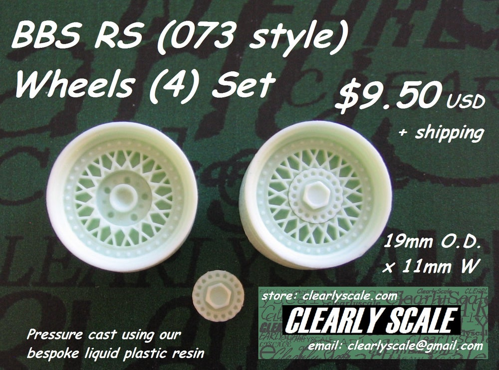 Image of BBS RS (073 style) Wheels Set, 19mm x 11mm