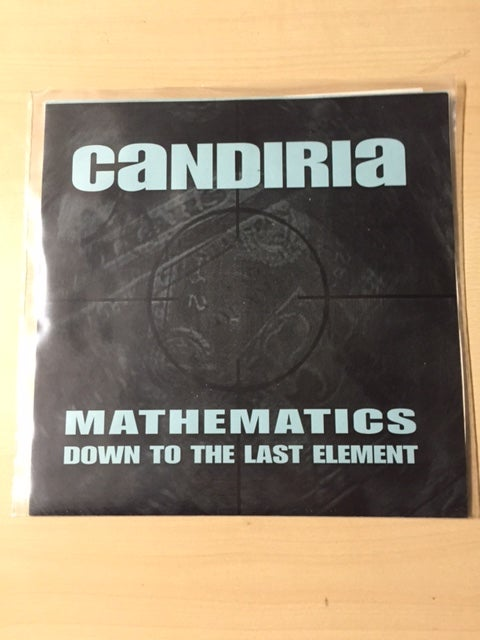 Image of CANDIRIA 2nd press black vinyl 7""