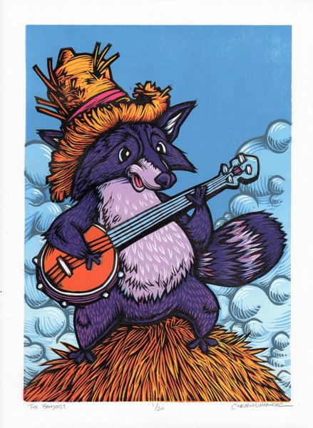 Image of The Banjoist print