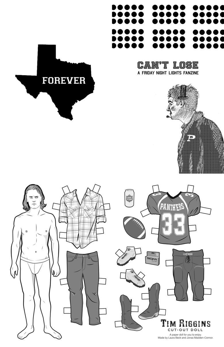 Image of Can't Lose: A Friday Night Lights Fanzine
