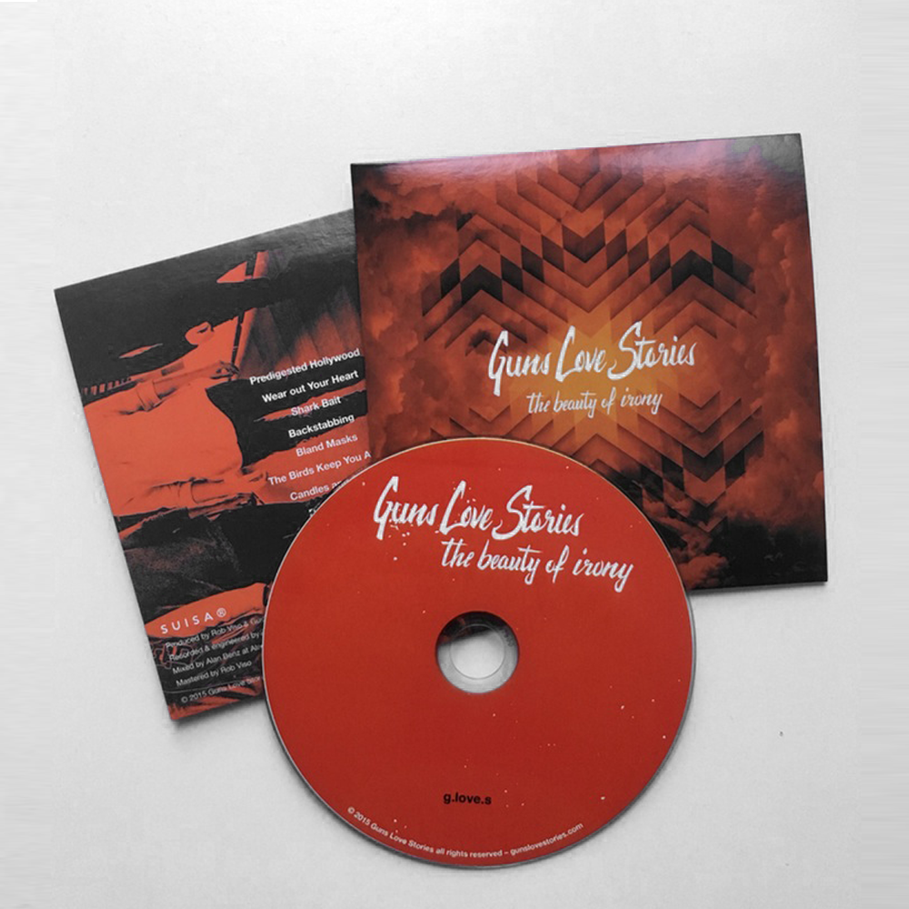 Image of 'The Beauty of Irony' CD
