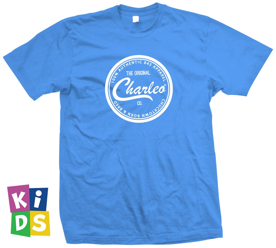 Image of The Original Charleo Seal Tee KIDS (CLICK FOR MORE COLORS)