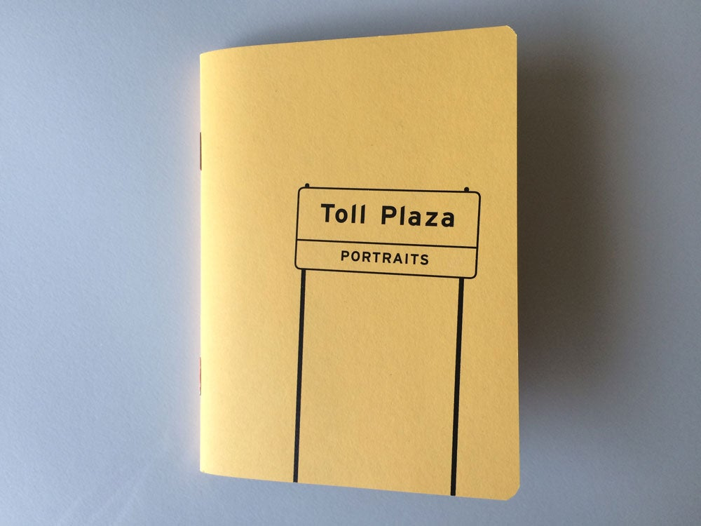 """Image of """"Toll Plaza Portraits"""" - book"""