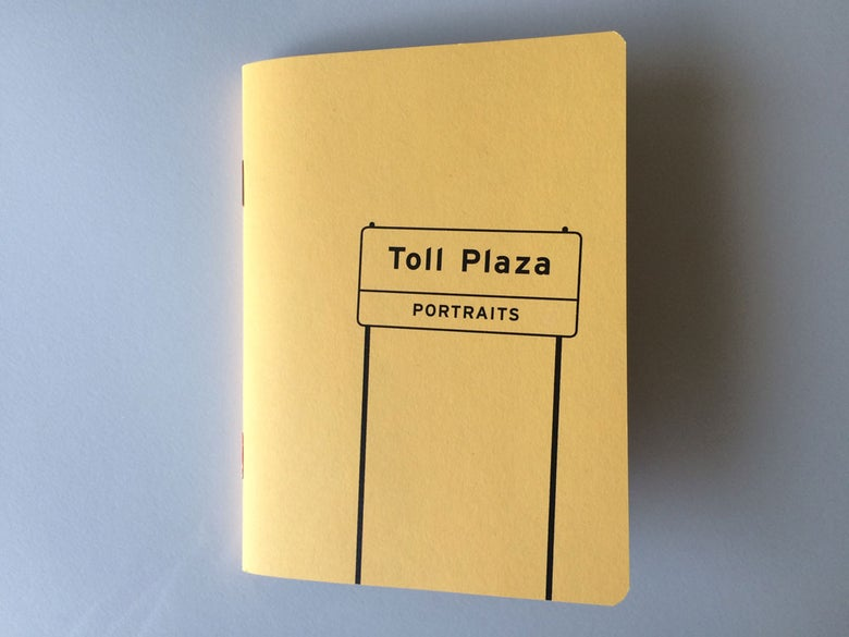 "Image of ""Toll Plaza Portraits"" - book"