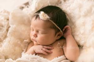 Image of Nest of Curls Blanket - IVORY